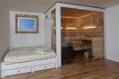 RUKU Sauna Galerie integrierte Kabinen